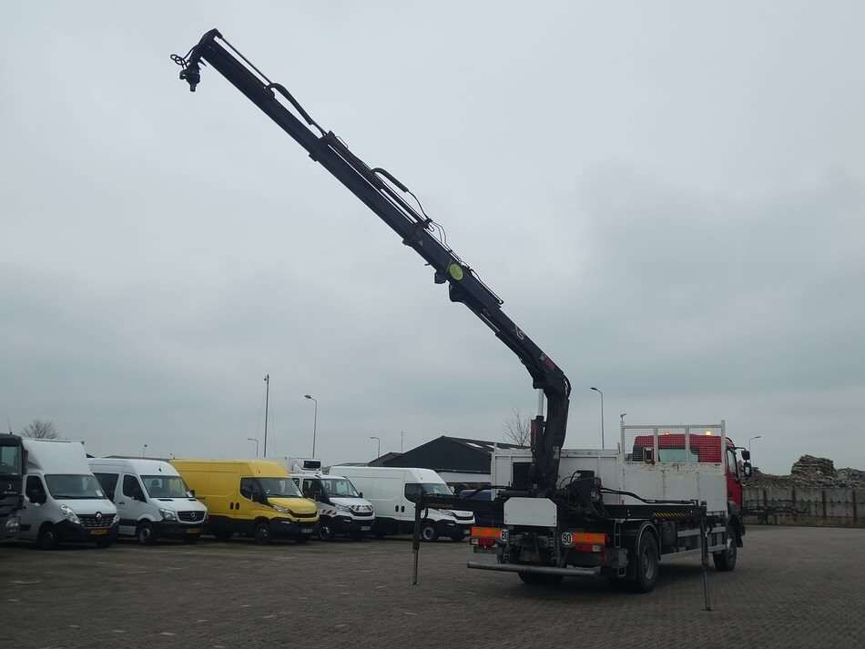 RENAULT KERAX 380 hiab122bs2 remote open laadbak vrachtwagen - Photo 2