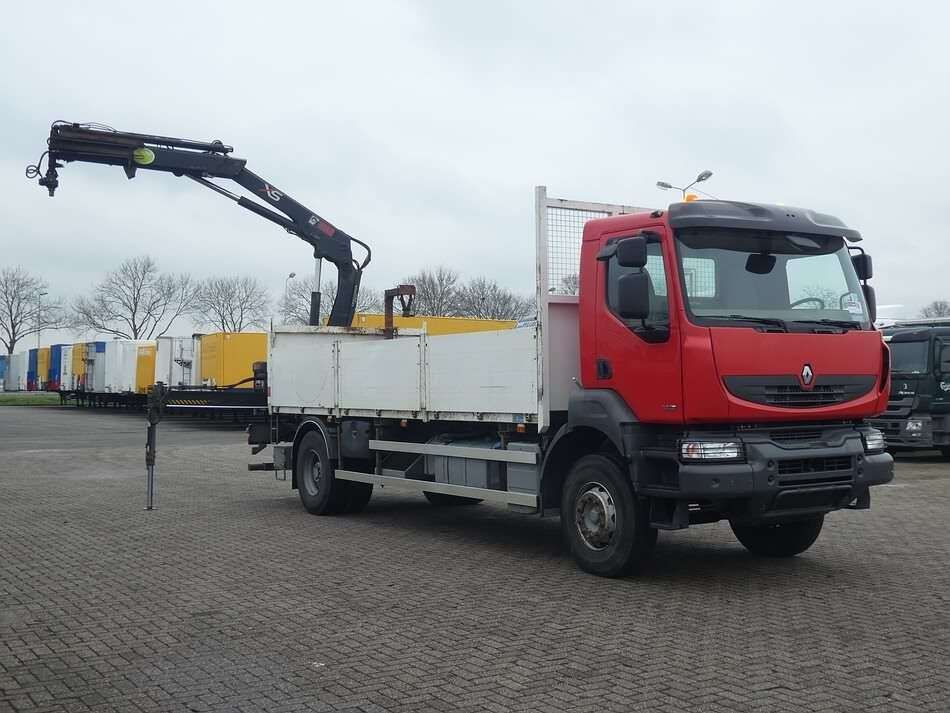 RENAULT KERAX 380 hiab122bs2 remote open laadbak vrachtwagen - Photo 11