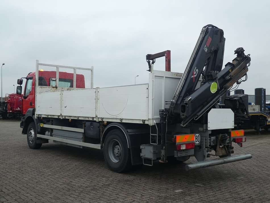 RENAULT KERAX 380 hiab122bs2 remote open laadbak vrachtwagen - Photo 5